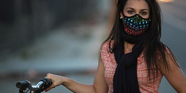 Masque Anti-pollution cyclistes et motard