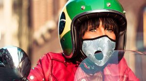 Masque anti pollution moto et scooter
