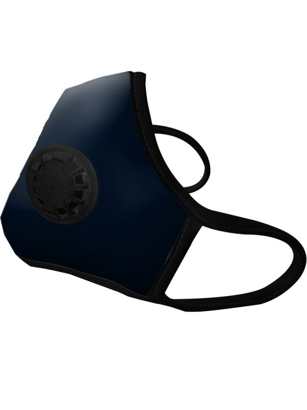 Masque Anti-pollution Black 1 valve