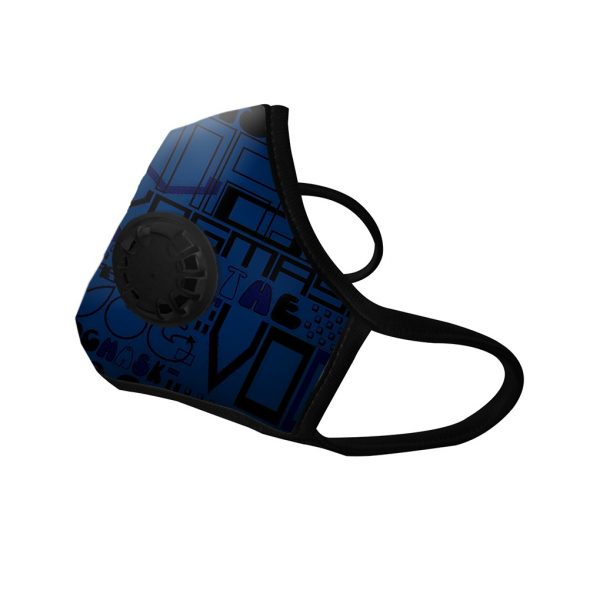 Masque Anti-pollution Cobalt 1 valve