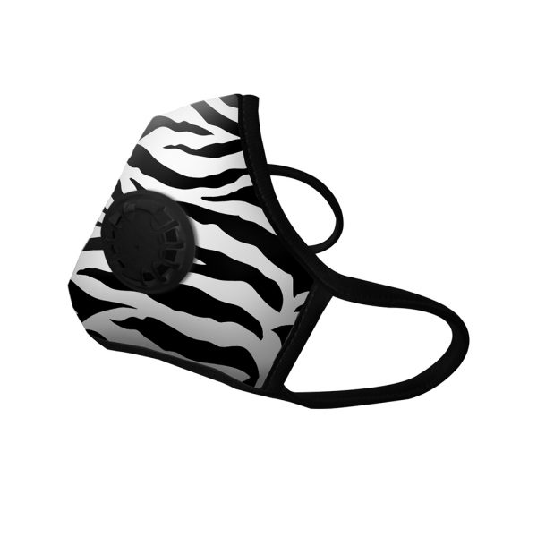 Masque Anti-pollution Zebra 1 valve