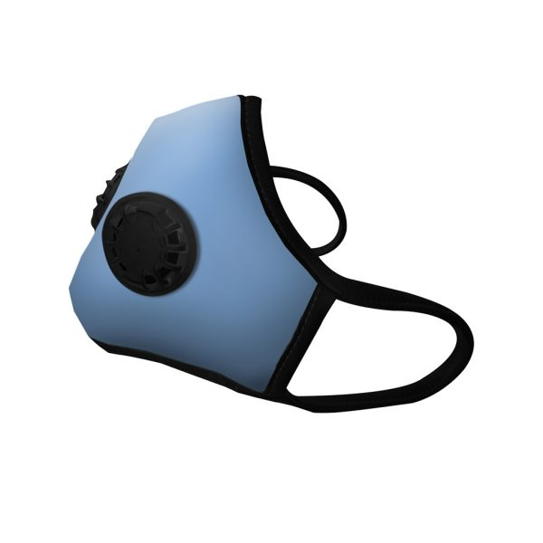Masque anti pollution Blue deux valves