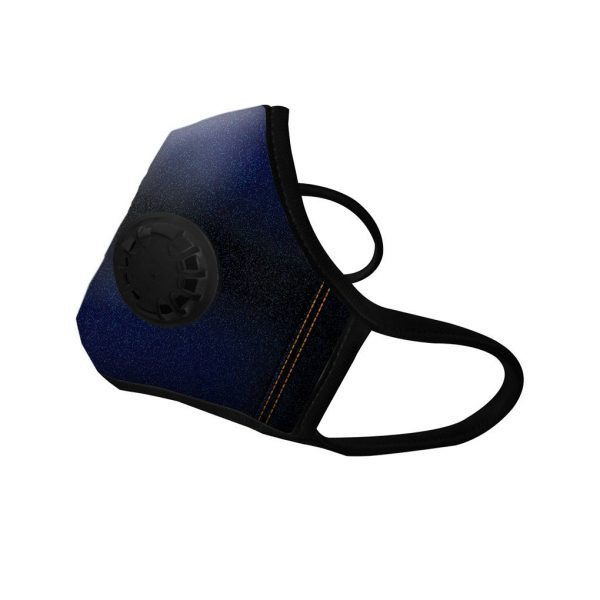 Masque anti-pollution Jeans 1 valve - Vogmask