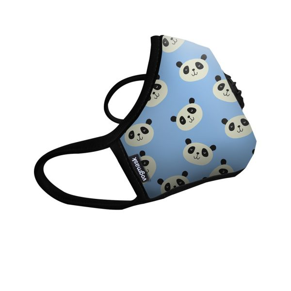 Masque anti pollution Panda blue - Vogmask