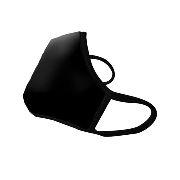 Masque anti pollution black sans Valve côté gauche - Vogmask